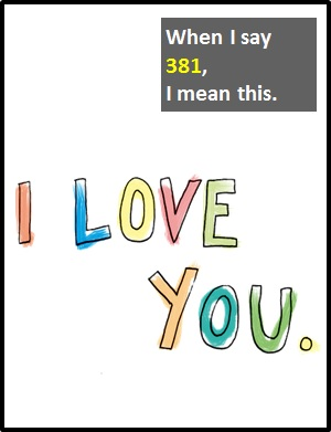 meaning of 381