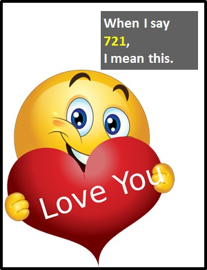 meaning of 721