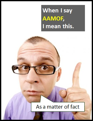 meaning of AAMOF