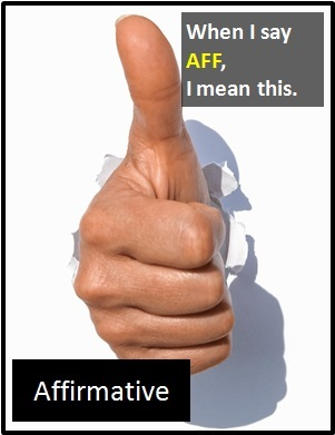 meaning of AFF