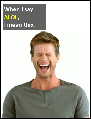 meaning of ALOL