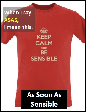 meaning of ASAS