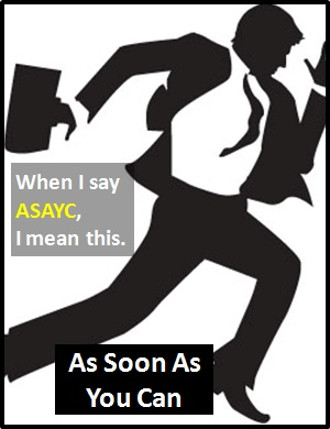 meaning of ASAYC