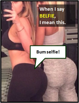 meaning of BELFIE