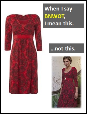 meaning of BNWOT