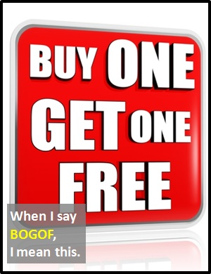 meaning of BOGOF