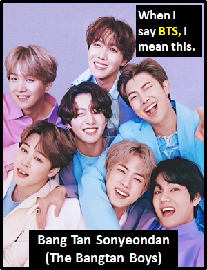 meaning of BTS