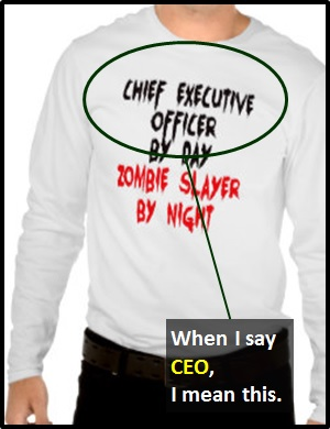 meaning of CEO