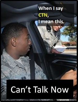 meaning of CTN