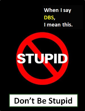 meaning of DBS