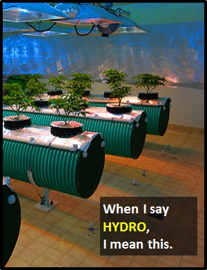 meaning of HYDRO