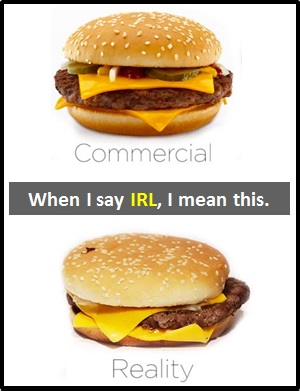 meaning of IRL