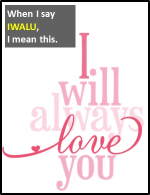 meaning of IWALU