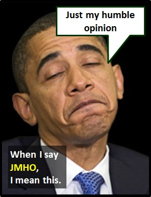meaning of JMHO