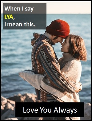 meaning of LYA