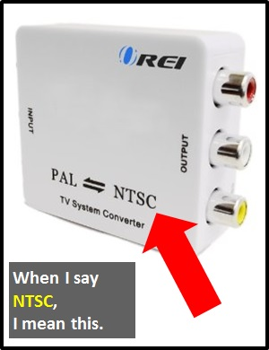 meaning of NTSC