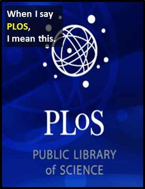 meaning of PLOS