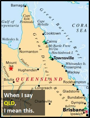 QLD  What Does QLD Mean