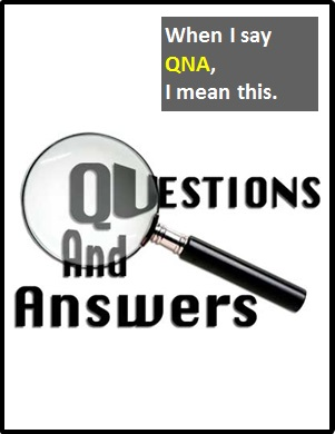 meaning of QNA
