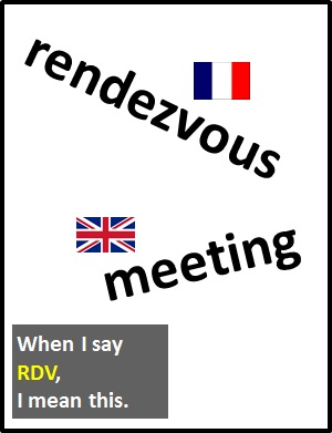 meaning of RDV