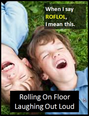 meaning of ROFLOL