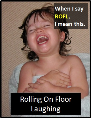 meaning of ROFL