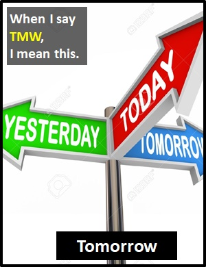TMW | What Does TMW Mean?