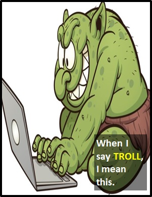 meaning of TROLL