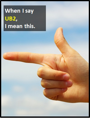 meaning of UB2