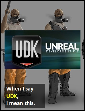 meaning of UDK
