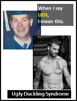 Unattractive meaning