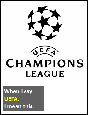 meaning of UEFA
