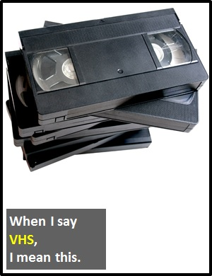 meaning of VHS