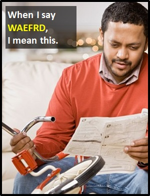 meaning of WAEFRD