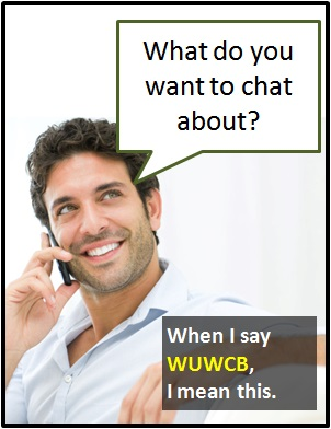 meaning of WUWCB
