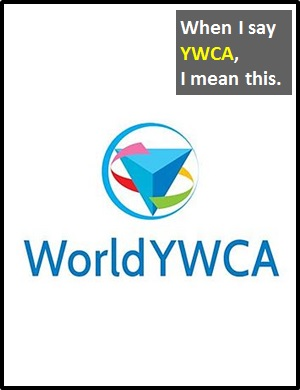 meaning of YWCA